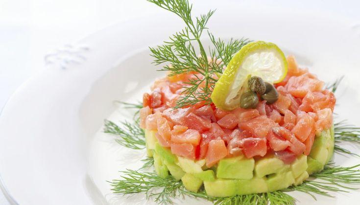 Tartare de saumon pour 2
