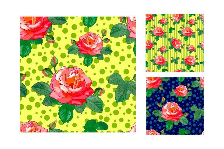 Roses on Behance
