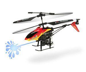 Hélicoptère RC à jet d'eau
