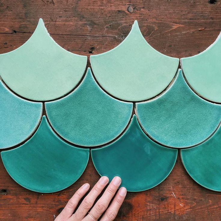 Mercury Mosaics   Moroccan Fish Scales - Mediterranean and Beach-y. 1017E Sea Mist, 216 Sea Glass, 108 China Sea   Get a free quote
