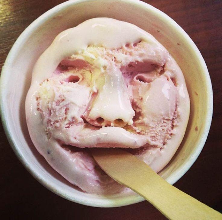 Ice Cream Face – Quand un japonais s'amuse à sculpter des visages dans ses glaces