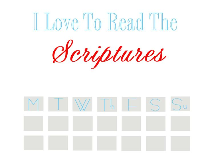 Printable Scripture Reading Chart - Whatever Dee-Dee wants, shes gonna get it