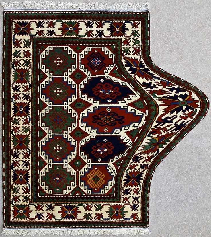 "Faig Ahmed, ""Expansion"", 100x150cm, tappeto tessuto a mano, 2011"