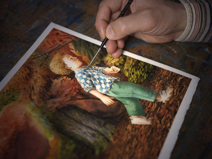 """Fabian Negrin -Illustrator- """"La Lettura"""" – Corriere della Sera   Monica Silva Photography"""