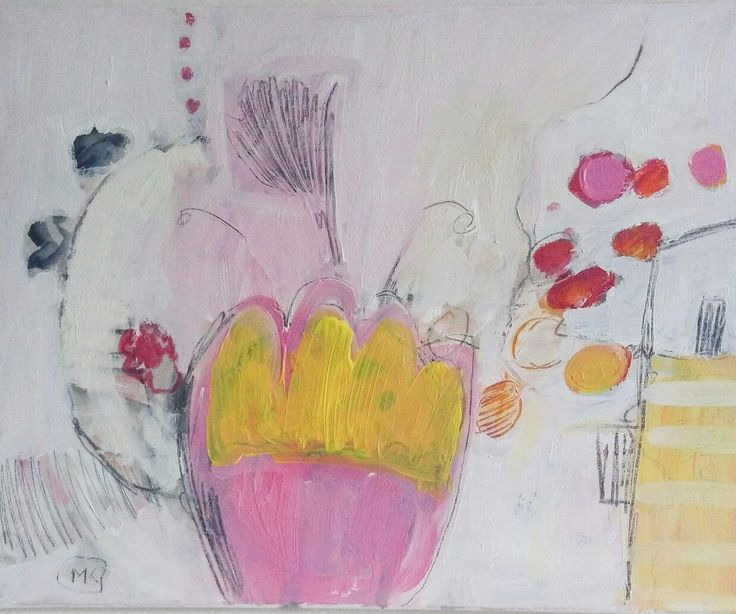 #kobus#malgo#abstract#painting#acrylic#pastel#floral#