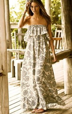 love the dress: Long Dresses, Summer Dresses, Beaches Dresses, Style, Outfit, Maxidresses, Victoria Secret, Summer Maxi Dresses, Summer Clothing