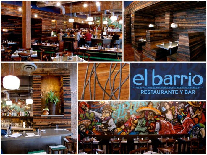 El Barrio featuring reclaimed wood from Evolutia | www.evolutiamade.com.  Birmingham ... - 31 Best Images About Venues On Pinterest Tins, Pine Flooring And