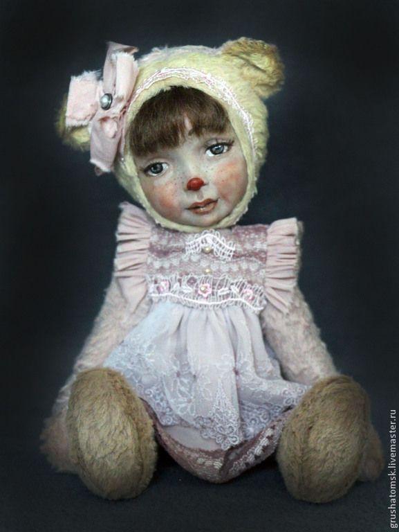 """Купить """"Анечка""""Теддидолл - кремовый, теддидолл, девочка, авторская кукла…"""