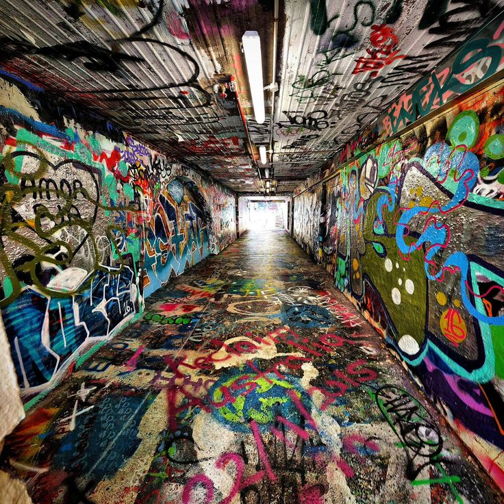 Best Graffiti And Street Art Images On Pinterest Artworks - Amazing graffiti alters perspective space