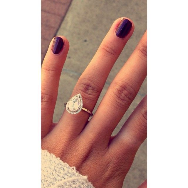 25 pear engagement rings ideas on pear