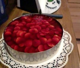 Rezept Variation von Erdbeer-Windbeutel-Torte von danidrexl - Rezept der Kategorie Backen süß