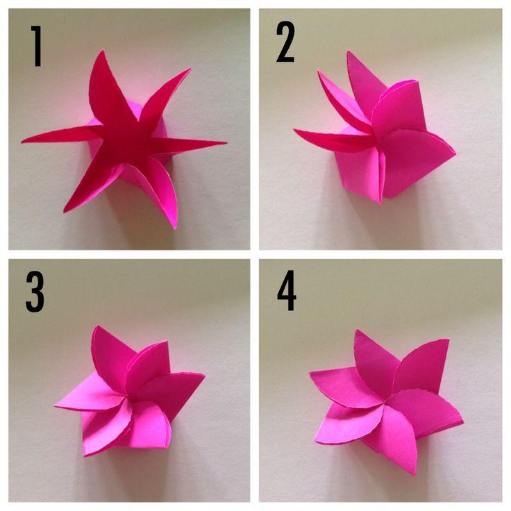 พับดอกไม้กระดาษ ศิลปะการพับกระดาษ งานฝีมือ ดอกไม้