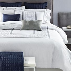 Make every day feel like a summer holiday with the 'South Beach' Collection. Adorned with inspired geometric embroidery on a white background, it offers a clean, fresh look that's uncomplicated and relaxing. With this comfy cotton comforter you may just like lounging in bed a little longer. #SearsWishlist