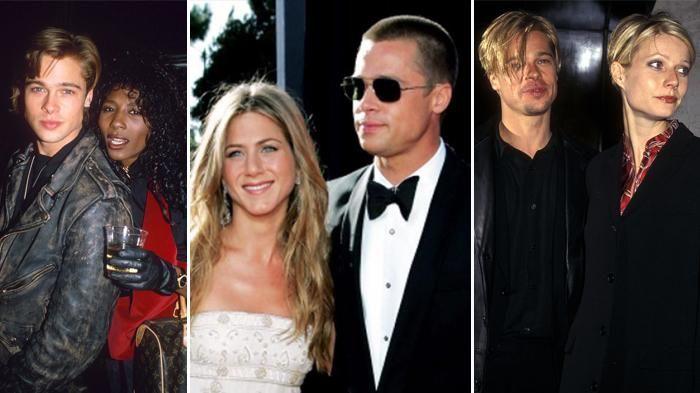 Asmara Brad Pitt - Inilah 11 Wanita Cantik yang Menjadi Barisan Para Mantan Si Tampan