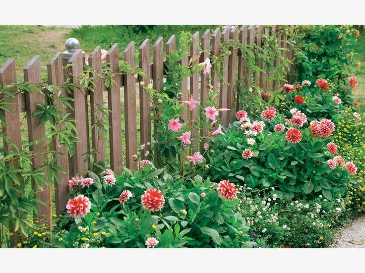 Die Besten 25+ Gartenzaun Holz Ideen Auf Pinterest