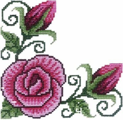 Corners - Machine Cross Stitch Embroidery Designs