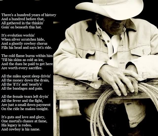 """""""Cowboy is His Name""""- Baxter Black.... The Poem from 8 Seconds"""