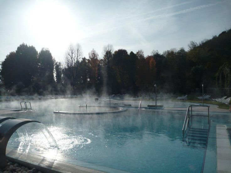 Hot steam and nice sunny day... what a perfect combination!