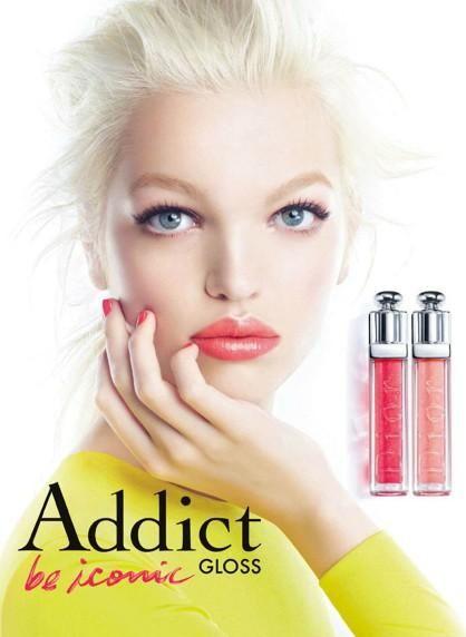 Dior Beauty - Dior Addict Gloss Spring 2013 Campaign  Model: Daphne Groeneveld