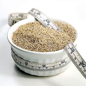 Chia Seeds - Rich in omega-3 fatty acids, calcium, and iron; great for weight loss because they act like a sponge, absorbing sugar and stabilizing blood sugar levels; Because of high fiber content, the tiny seeds can hold up to twenty times their weight in water, so when mixed with liquid they plump and absorb excess moisture; add to oatmeal or put in a bowl with unsweetened chocolate almond milk-they will absorb the liquid and gelatinize, similar to the consistency of a rice pudding