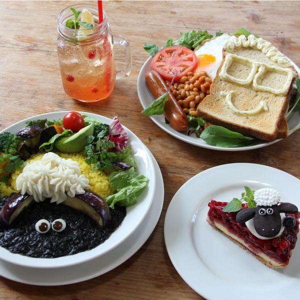 「ひつじのショーン」カフェ、吉祥寺サンデーブランチに期間限定オープンの写真6