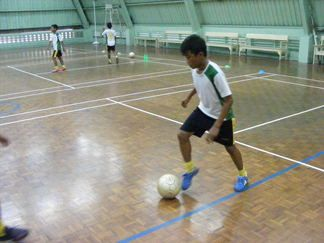 Training that special touch that all great dribblers share.