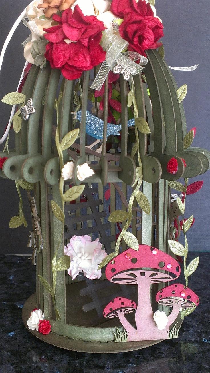Twiddleybitz Antique Birds Cage