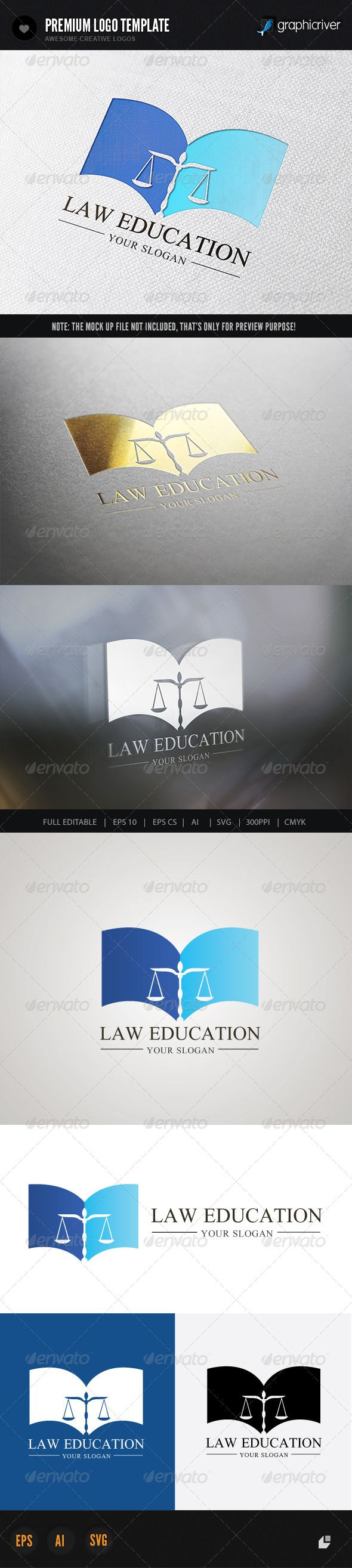Law Education — Vector EPS #law office #security • Available here → https://graphicriver.net/item/law-education/6369330?ref=pxcr