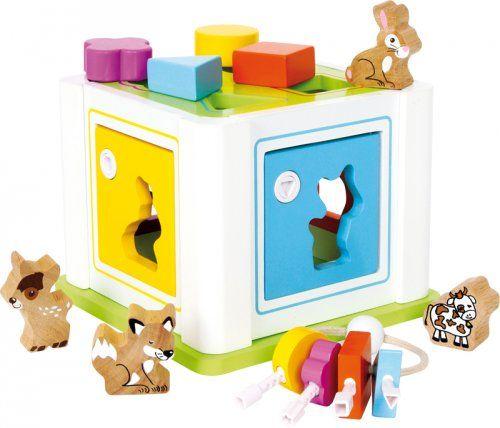 Κουτί ταξινόμησης σχημάτων/ Shape Sorter Box