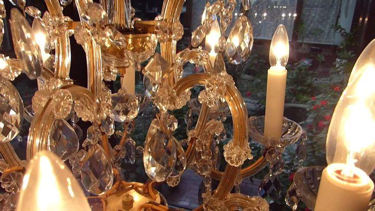 Bohemian Stand chandelier最高級ボヘミアンクリスタル スタンドシャンデリア