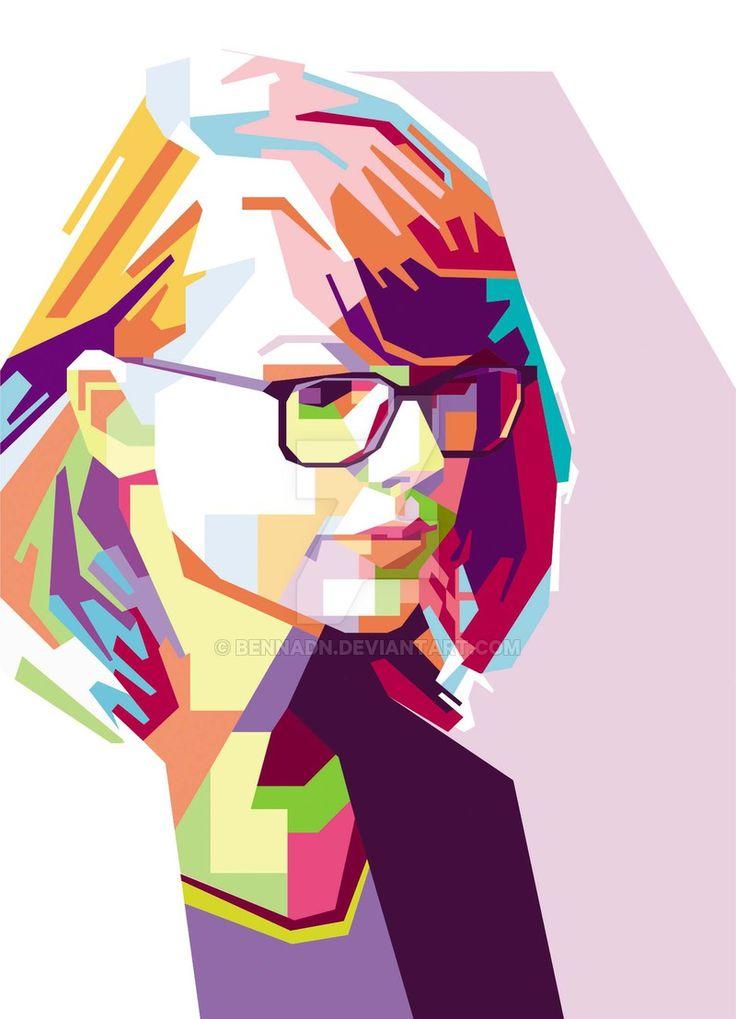 Taylor Swift WPAP by bennadn.deviantart.com on @DeviantArt