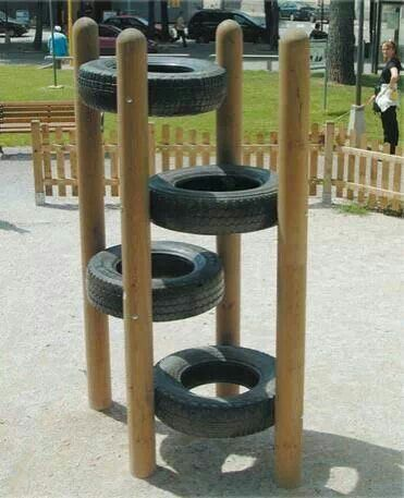 Repurposed Tires