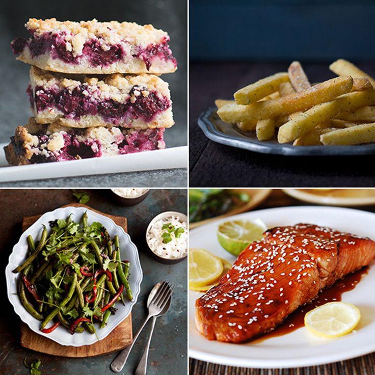 """Blackberry Pie Bars & Sesamlachs – Köstliche Links   – """"Healthy recipes"""""""