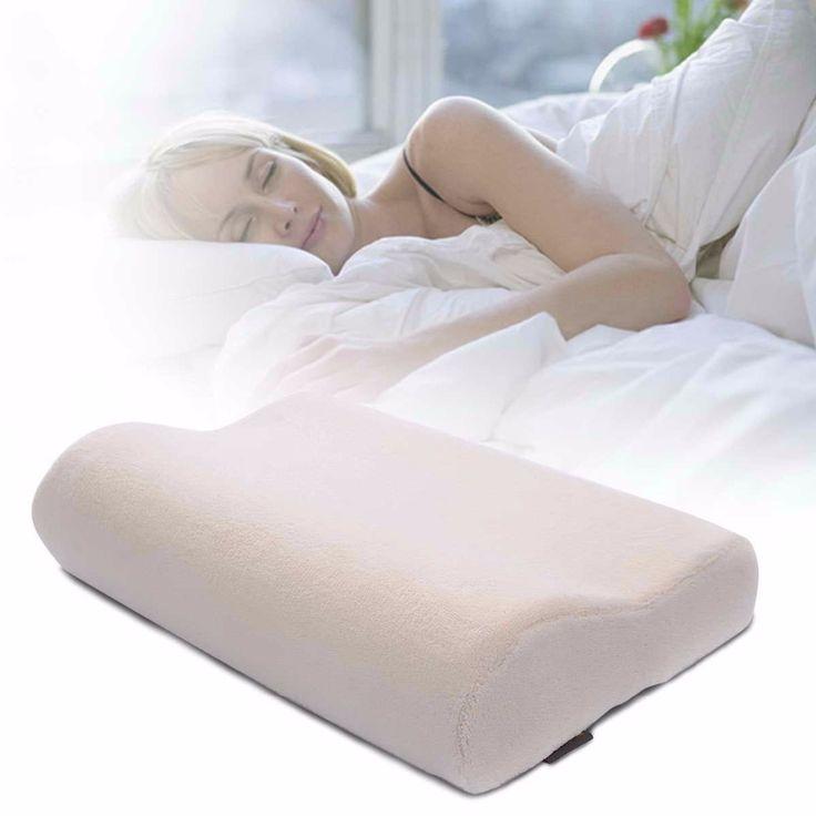 Lavable almohada de esponja de memoria ergonomica confort cojin cervical HT0892