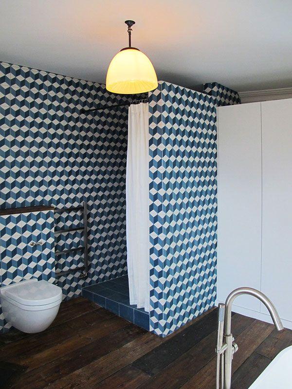 Charles TashimaArchitecture - desire to inspire - desiretoinspire.net - tumbling block tile