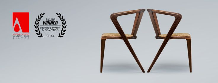 The PORTUGUESE ROOTS Chair WINS the International SILVER Award ( by Alexandre Caldas) by A'DESIGN AWARDS