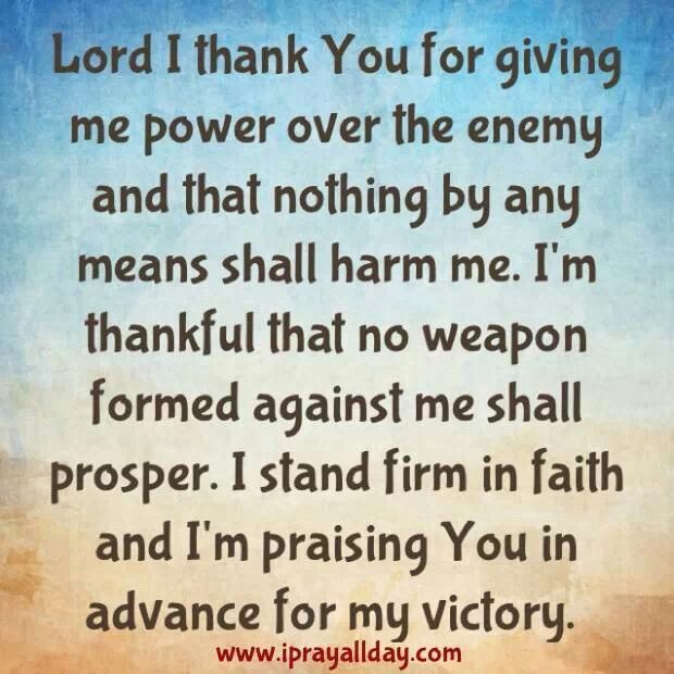 Scriptures About Victory Over Our Enemies – Daily Motivational Quotes