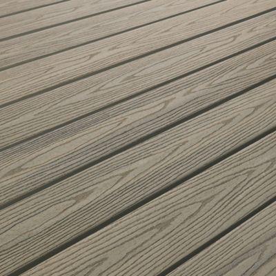 Lame De Terrasse Composite Gris Good Life 244 X 13 4 Cm En 2020 Lame De Terrasse Composite Lame Terrasse Et Terrasse Composite