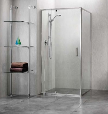 Custom made showers