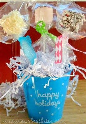 holiday gift ideas: Christmas Food, Food Gifts, Gifts Ideas, Dips Marshmallows, Holidays Ideas, Holidays Gifts, Christmas Ideas, Marshmallows Pop, Christmas Gifts