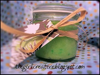Sugar scrub!  This worked really well!  The one thing I'd recommend is using less olive oil though