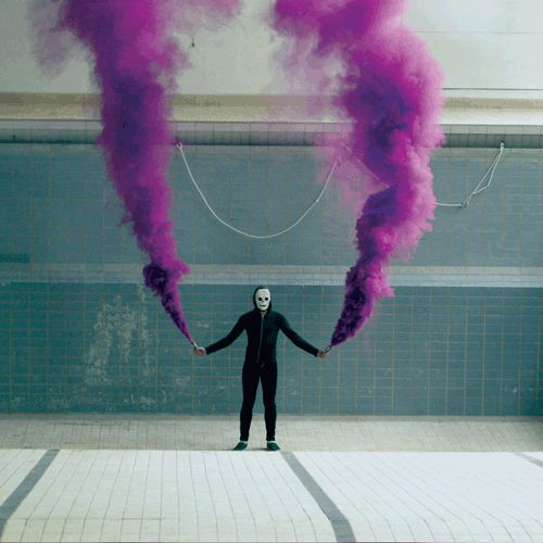 Where Do You Get Smoke Flares Like This?? « Kanye West Forum