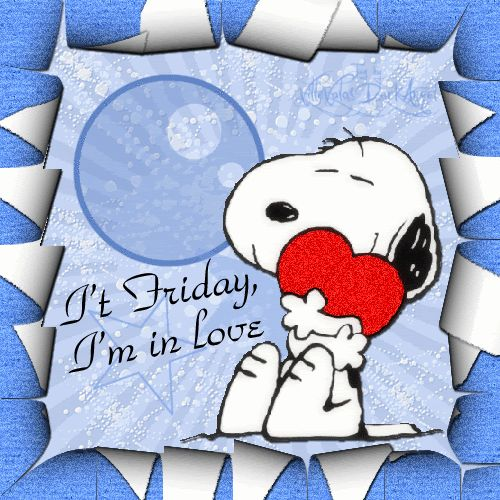 Snoopy in love with Friday's ~ღ~