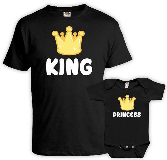 Padre hija juego camisas Daddy hija camisas papá e por Materniteees