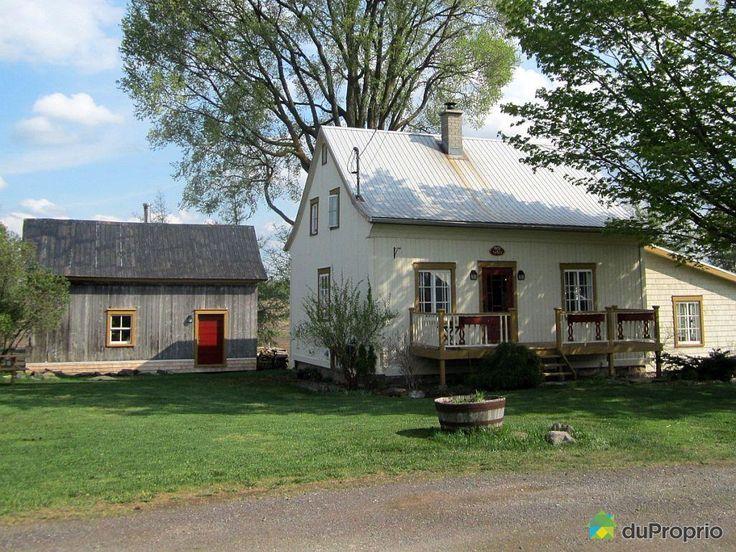 Belle ancestrale bâtit en 1840 à Ste-Agathe-de-Lotbinière