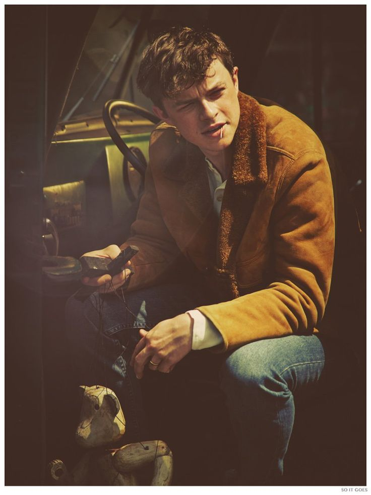 Dane DeHaan Covers So It Goes Magazine image Dane DeHaan So It Goes 2014 Photo Shoot 002