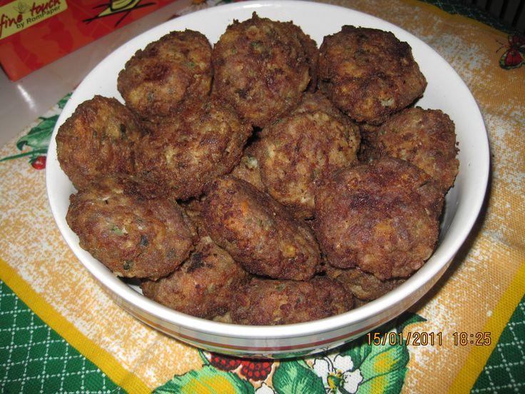Reteta Parjoale moldovenesti - Mancaruri cu carne