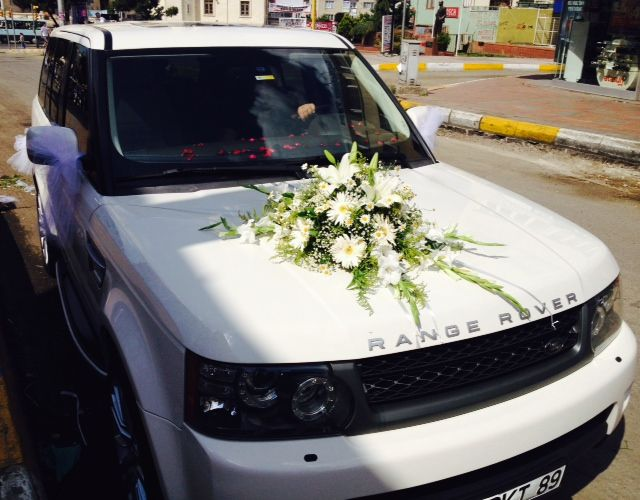 Araba Susu Wedding Car DecorationsWedding