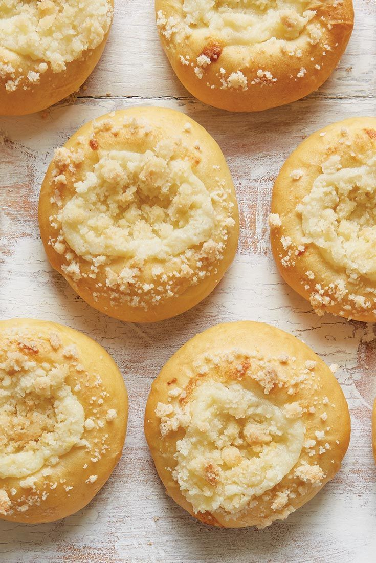 Czech Kolaches With Cheese or Apple Filling | King Arthur Flour