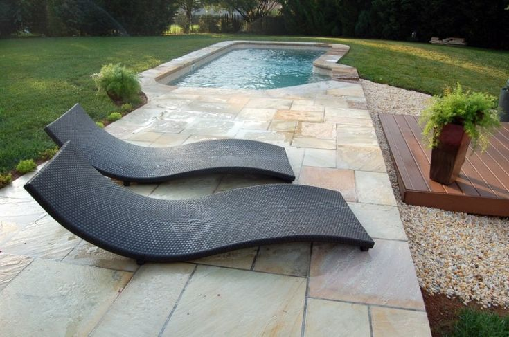 Fiberglass swimming pools black lounge and swimming pools on pinterest for Used fiberglass swimming pools for sale